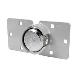 """A800LHCD American Lock High Security Hasp with Solid Steel Padlock 2-7/8"""" (72mm) (Commercial Carded)"""