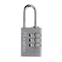 "620D-Combination Luggage Padlock 13/16"" (20mm)"