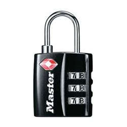4680DBLK TSA-Accepted Padlock - Set-Your-Own-Combination