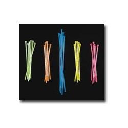 Mutual Industries 14970 Neon Colored Locking Zip Ties