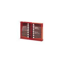 Genius Tools CM-4133S 133PC 1/2 Inch Dr. SAE Impact Socket Set