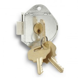Zephyr 1730 ADA Vertical Dead Bolt Key Lock, 3 User Keys