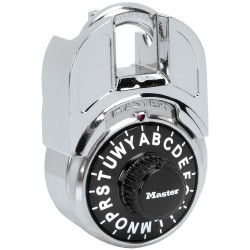 Master Lock Shrouded Letter Lock Combination Padlock