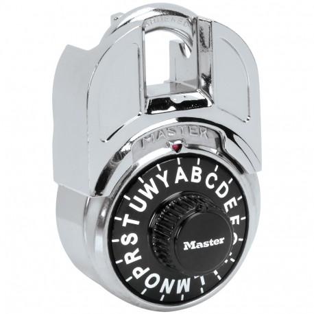 Master Lock Shrouded Letter Lock Combination Padlock
