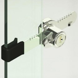 CompX Disc Tumbler Sliding Door Locks