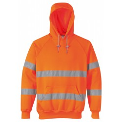 Portwest UB304 Hi-Vis Hooded Sweatshirt