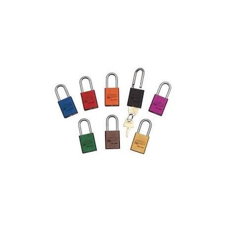 """A1106 American Lock Safety Lockout Padlock 1-1/2""""(38mm) Rekeyable Rectangular Padlock"""