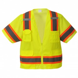 Portwest US373 Aurora Sleeved Hi-Vis Vest
