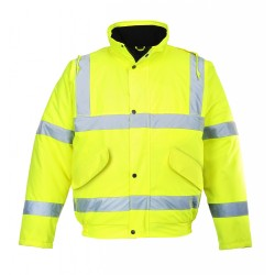 Portwest US463 Hi-Vis Bomber Jacket