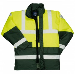 Portwest US466 Hi-Vis Contrast Traffic Jacket