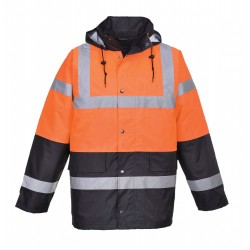 Portwest US467 Hi-Vis Contrast Traffic Jacket