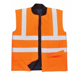 Portwest US469 Hi-Vis Bodywarmer