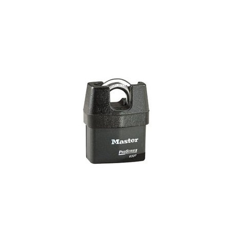 "Master Lock 6327 Solid Iron Shrouded High Security Pro Series Rekeyable Padlock 2-5/8"" (67mm)"