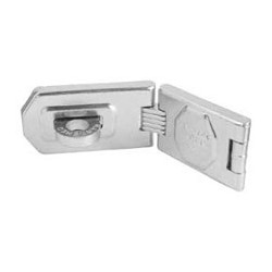 A875 American Lock Single Hinge Hasp