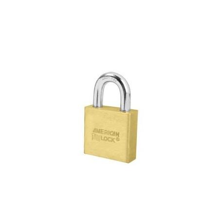 "A5570 American Lock  Solid Brass Rekeyable Padlock 2"" (50mm)"