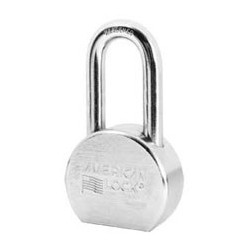 "A707 American Lock Solid Steel Rekeyable Padlock 2-1/2"" (63mm)"