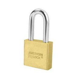 "A6571 American Lock  Solid Brass Rekeyable Padlock 2"" (50mm)"
