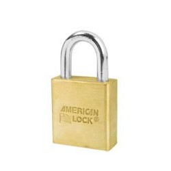 "A5560 American Lock Solid Brass Rekeyable Padlock 1-3/4"" (44mm)"