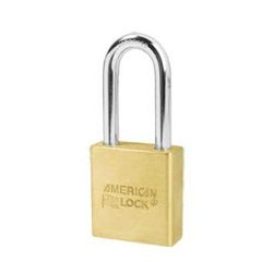 "A5561 American Lock  Solid Brass Rekeyable Padlock 1-3/4"" (44mm)"