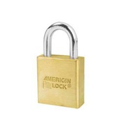 "A6560 American Lock  Solid Brass Rekeyable Padlock 1-3/4"" (44mm)"