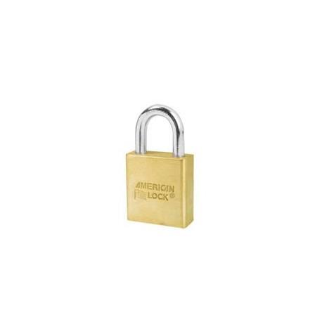 "A6560 American Lock  Solid Brass Rekeyable Padlock 1-3/4"" (44mm)"
