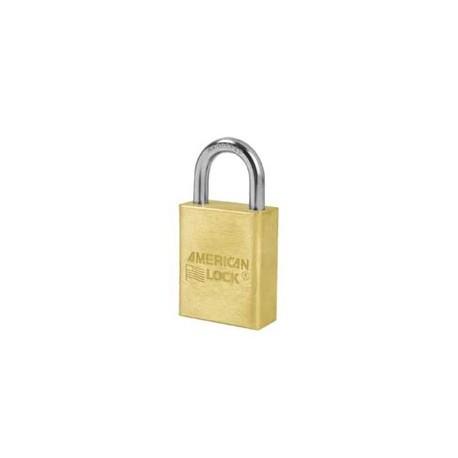 "A5530 American Lock  Solid Brass Rekeyable Padlock 1-1/2"" (38mm)"