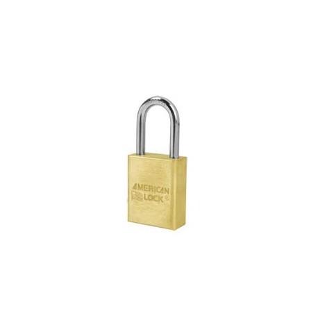 "A5531 American Lock  Solid Brass Rekeyable Padlock 1-1/2"" (38mm)"