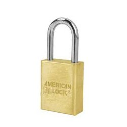 "A6531 American Lock Solid Brass Rekeyable Padlock 1-1/2"" (38mm)"