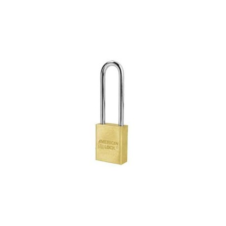 "A6532 American Lock  Solid Brass Rekeyable Padlock 3"" (75mm)"