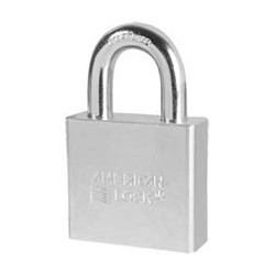 "A6260 American Lock Solid Steel Rekeyable Padlock 2"" (50mm)"