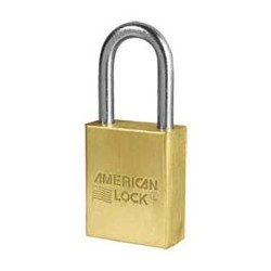 A41 American Lock Solid Brass Non-Rekeyable Padlock