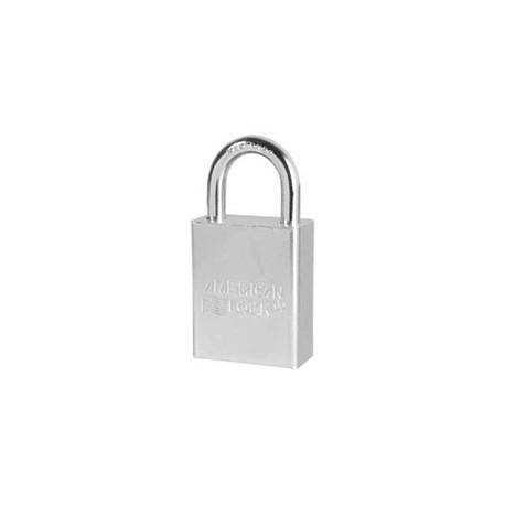 """A6100 American Lock  Solid Steel Rekeyable Padlock 1-1/2"""" (38mm)"""