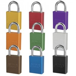 "A1105 American Lock Safety Lockout Padlock 1-1/2""(38mm) Rekeyable Rectangular Padlock"