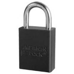 "A1165 American Lock Safety Lockout Padlock 1-1/2""(38mm) Rekeyable Rectangular Padlock"