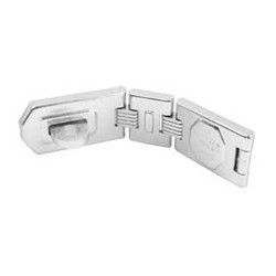 A885D American Lock Double Hinge Hasp (Commercial Carded)