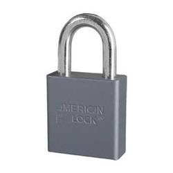 A10 American Lock Non-Rekeyable Solid Aluminum Padlock
