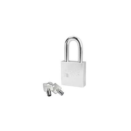 A7301 American Lock Solid Steel Rekeyable Padlock Tubular Cylinder