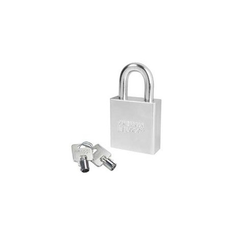 A7260 American Lock  Solid Steel Rekeyable Padlock Tubular Cylinder