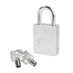 A7200 American Lock Solid Steel Rekeyable Padlock Tubular Cylinder