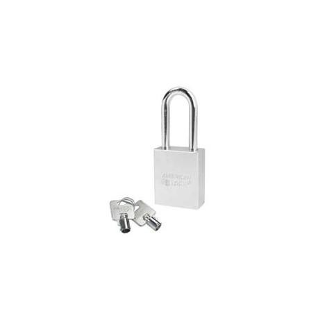 A7201 American Lock Solid Steel Rekeyable Padlock Tubular Cylinder