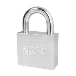 "A780 American Lock Solid Steel Rekeyable Padlock 2-1/2"" (63mm)"