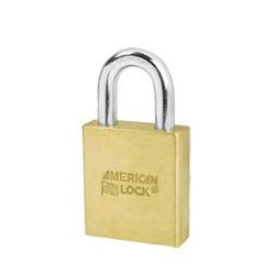 A3700 American Lock Door Key Compatible Solid Brass Padlock