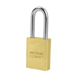 A3601 American Lock Door Key Compatible Solid Brass Padlock