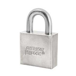 A50SS American Lock Solid Steel Non-Rekeyable Padlocks