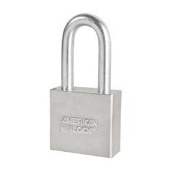 A51 American Lock Solid Steel Non-Rekeyable Padlocks