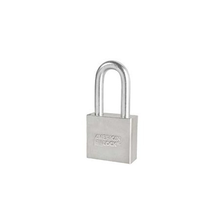 A51D American Lock Solid Steel Non-Rekeyable Padlock (Commercial Carded)
