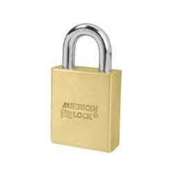"A3900S American Lock  Schlage Large Format Interchangeable Core Brass Padlock 2"" (50mm)"