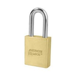 "A3901S American Lock Schlage Large Format Interchangeable Core Brass Padlock 2"" (50mm)"