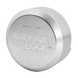 "A2000D American Lock Hidden Shackle Rekeyable Padlock 2-7/8"" (72mm) (Commercial Carded)"