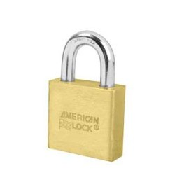 "A3570 American Lock - Small Format Interchangeable Core Padlock - 2"" Solid Brass"